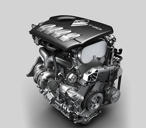 4 MAX intelligent full-time AWD system of Borgward BX7 100 Years