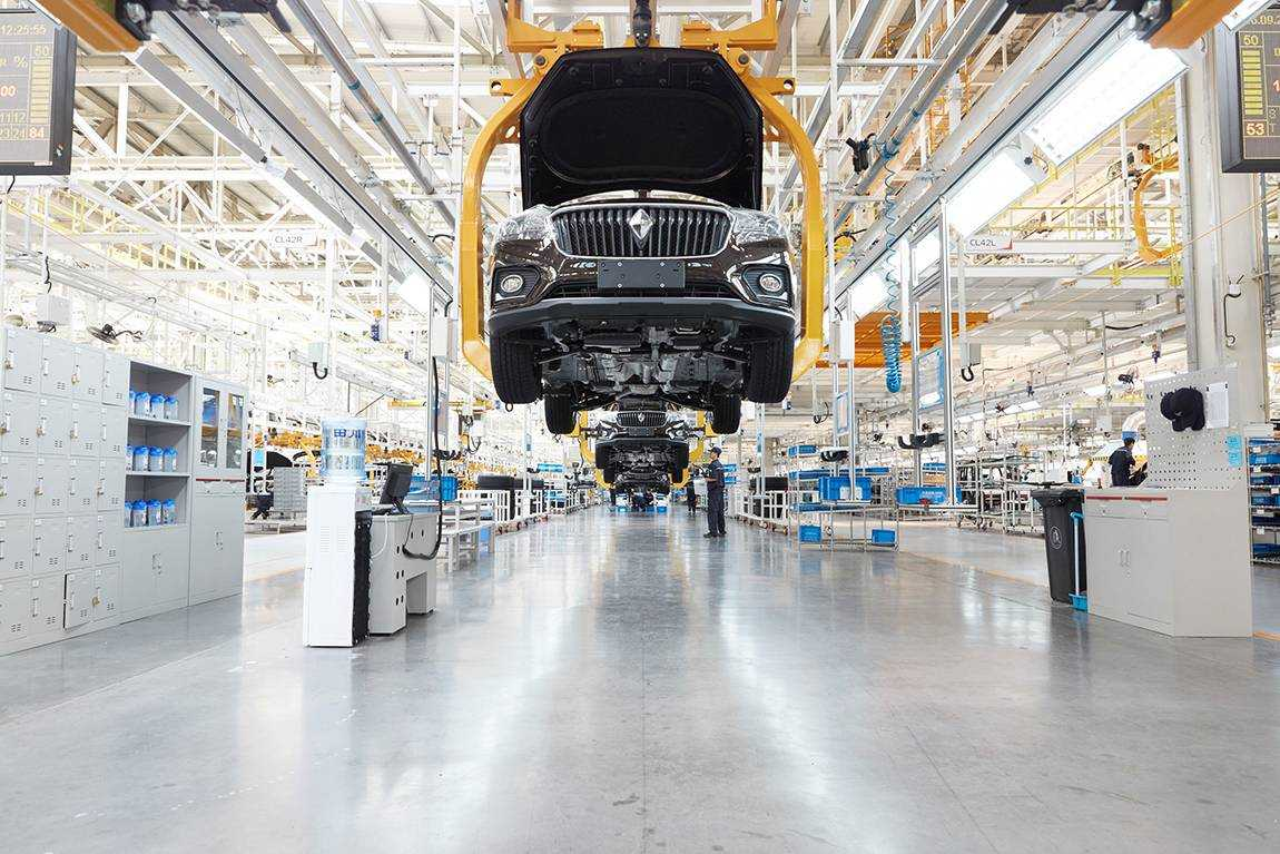Borgward Car Company Production Facilities