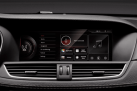 Massive 12.3 inch anti-glare touchscreen display of Borgward BX7