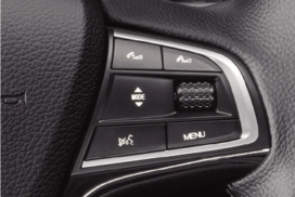 Steering wheel controls of Borgward BX7