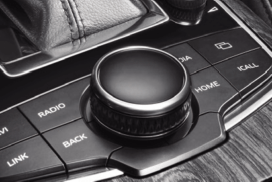 Multifunction 10-way control knob of Borgward BX7