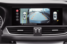 360 degree park assist + blind spot detection (BSD) system of Borgward BX7