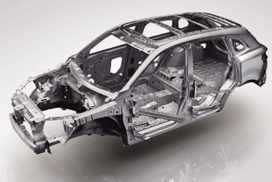 Ultra high-strength steel body cage of Borgward BX7