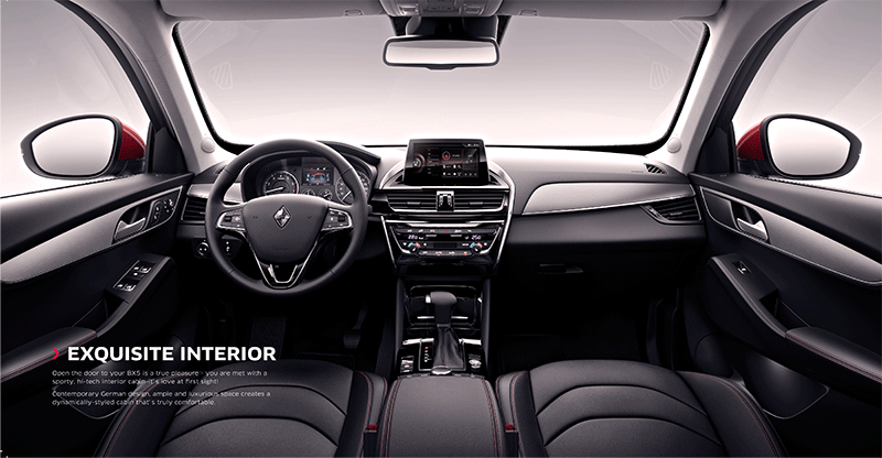 Interior Design of Borgward BX5