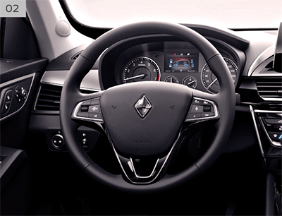 Steering of Borgward BX5